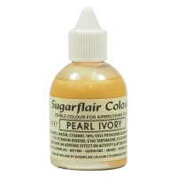 Sugarflair Airbrush Colouring Pearl Ivory -60ml-