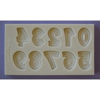Alphabet Moulds Party Font Numbers