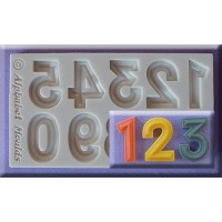 Alphabet Moulds Bevelled Font Numbers