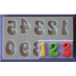Alphabet Moulds Fun Font Numbers
