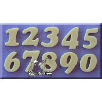Alphabet Moulds Cookie Font Numbers