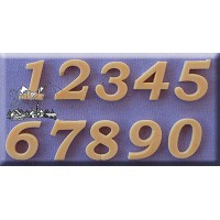 Alphabet Moulds Bookman Old Style Numbers