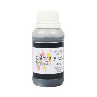 Colour Splash Airbrush Colours Black -45gr-