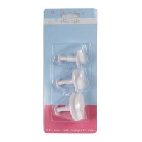 Cake Star Plunger Cutter Holly -3st-