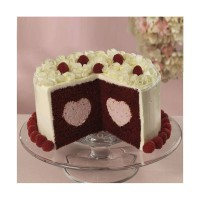 Wilton Tasty Fill Cake Pan Heart Set