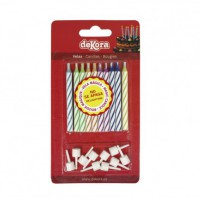 Dekora Magic Candles -10st-