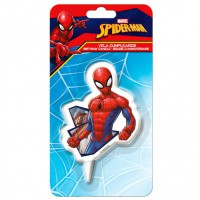 Dekora 2D Cake Candle Spiderman