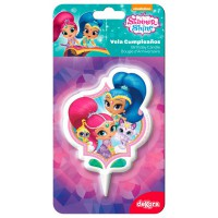 Dekora 2D Cake Candle Shimmer and Shine