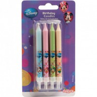 Dekora Cake Candles Mickey & Friends -8st-