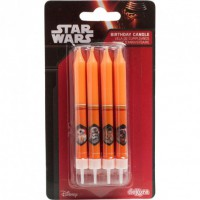 Dekora Cake Candles Star Wars -8st-