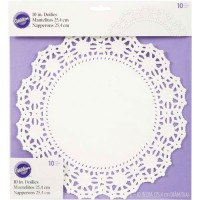 Wilton Doilies White Grease-Proof Round 25cm -10st-