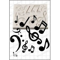 FPC Mold Musical Notes