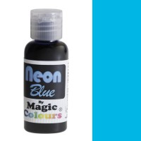 Magic Colours Neon Effect Paste Colour Blue (32gr)