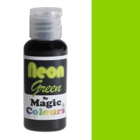 Magic Colours Neon Effect Paste Colour Green -32gr-