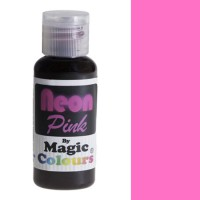 Magic Colours Neon Effect Paste Colour Pink (32gr)