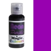 Magic Colours Neon Effect Paste Colour Purple -32gr-