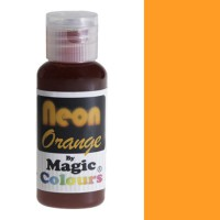 Magic Colours Neon Effect Paste Colour Orange (32gr)
