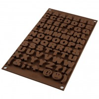 Silikomart Chocolate Mould Choco ABC