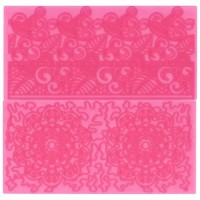 FMM Impression Mats Filigree Lace 2st-