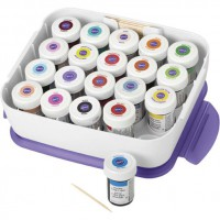 Wilton Icing Color Set Premium + Organizer
