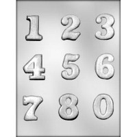 CK Chocolate & Candy Mold Numbers