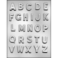 CK Chocolate & Candy Mold Alphabet