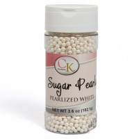 CK Sugar Pearlized Pearls White 4mm -102gr-