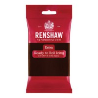 Renshaw Rolfondant Extra Chocolate Flavoured -250gr-