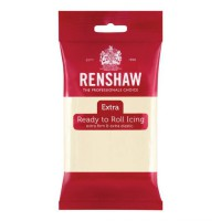 Renshaw Rolfondant Extra White Chocolate Flavoured -250gr-