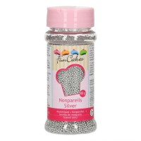 FunCakes Musketzaad Zilver -80gr-