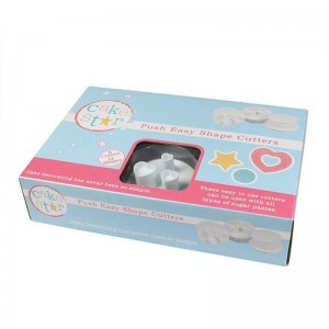 Cake Star Push Easy Cutters - Shapes