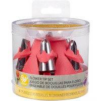 Wilton Tip Dishwasher & Storage Set Flower