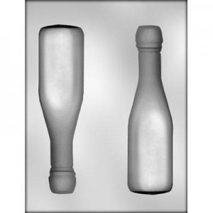 CK Chocolate & Candy Mold 3D Champagne Bottle Large