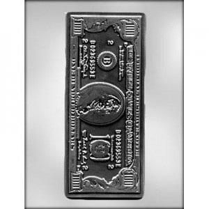 CK Chocolate & Candy Mold $100 Dollar Bill