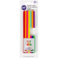 Wilton Birthday Candles Tall & Short -20st-