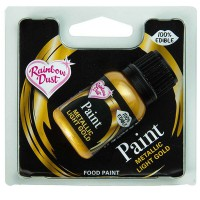 RD Metallic Food Paint Light Gold -25ml-