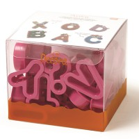 Decora Cookie Cutter Set Alphabet -27st-