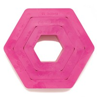 Decora Cookie Cutter Set Hexagon -3st-
