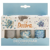 Decora Sugar Decoration Set Frozen Star