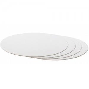 Decora Cake Board Rond Wit -20cm-