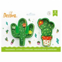 Decora Cookie Cutter Set Cactuses -2st-