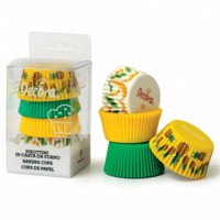 Decora Baking Cups Tropical -75st-
