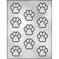 CK Chocolate & Candy Mold Paw Print