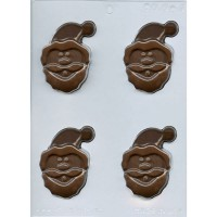 CK Chocolate & Candy Mold Santa Face