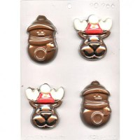 CK Chocolate & Candy Mold Reindeer & Snowman