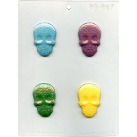 CK Chocolate & Candy Mold Day of Dead Skulls