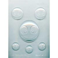 CK Chocolate & Candy Mold Emoji Happy