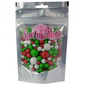 Sprinkletti Christmas Baubles -100gr-
