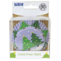 PME Foil Baking Cups Christmas Tree -30st-