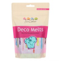 FunCakes Deco Melts Light Blue -250gr-
